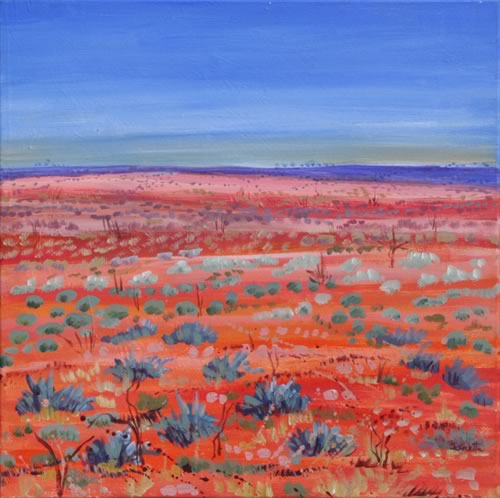 The Painted Desert Australia painting